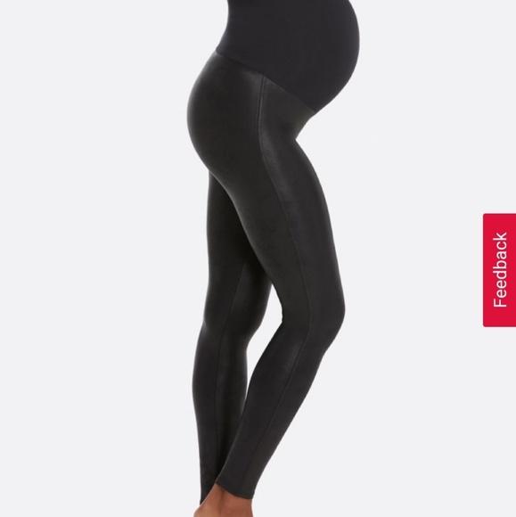825f82cc2699e SPANX Pants | Mama Faux Leather Maternity | Poshmark